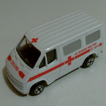 CORGI JUNIORS FORD TRANSIT Ambulance 90's diecast model HET BELGISCHE RODE KRUIS @SOLD@